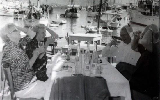 Arkitekt Frits Schlegel og Hustru Fritze Schlegel